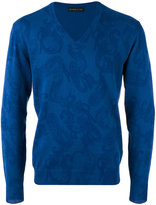 Etro Paisley jumper - men - Cotton - S