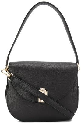 Furla flap shoulder bag