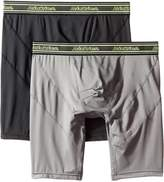 Dickies Men's 2 Pack Work Performance Long Leg Boxer Brief