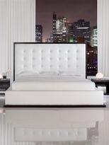 Modloft Ludlow Bed in Wenge/White