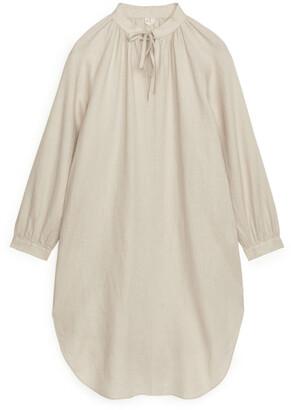 Arket Linen Kaftan Dress