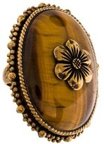 Stephen Dweck Tiger's Eye Quartz Ring