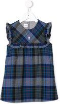 Familiar sleeveless checked dress