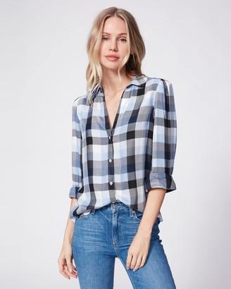 Paige Enid Shirt-Dream Blue Multi