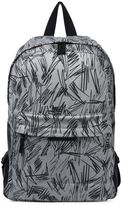 Stella McCartney bang grey scribble backpack