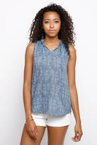 Q&A Embroidered Woven Swing Blouse