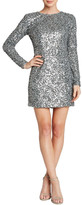 Dress the Population Bailey Long Sleeve Sequined Dress