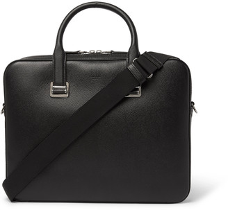 Dunhill Cadogan Full-Grain Leather Briefcase