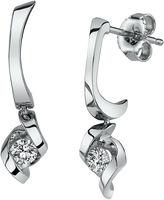 Sirena 1/5 CT. T.W. Round White Diamond 14K Gold Stud Earrings