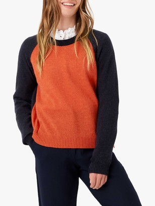 Brora Cashmere Colour Block Jumper