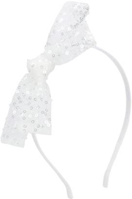 Simonetta Sequin Embellished Bow Hairband