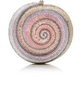 Judith Leiber Couture Polymita Snail Shell Clutch
