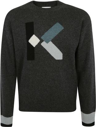 Kenzo Cube Knit Sweater