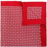 Salvatore Ferragamo double Gancio print scarf