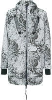 Diesel splatter print windproof jacket - men - Nylon/Polyester - M