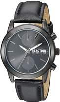 Kenneth Cole Reaction Women's Quartz Metal Casual Watch, Color:Black (Model: RK50108009)