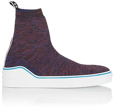 Givenchy Men's George V Knit Sneakers - Blue