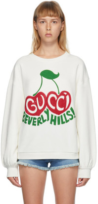 Gucci Off-White Beverly Hills Sweatshirt