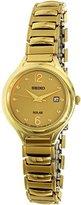 Seiko Women's SUT180 Analog Display Japanese Quartz Gold Watch