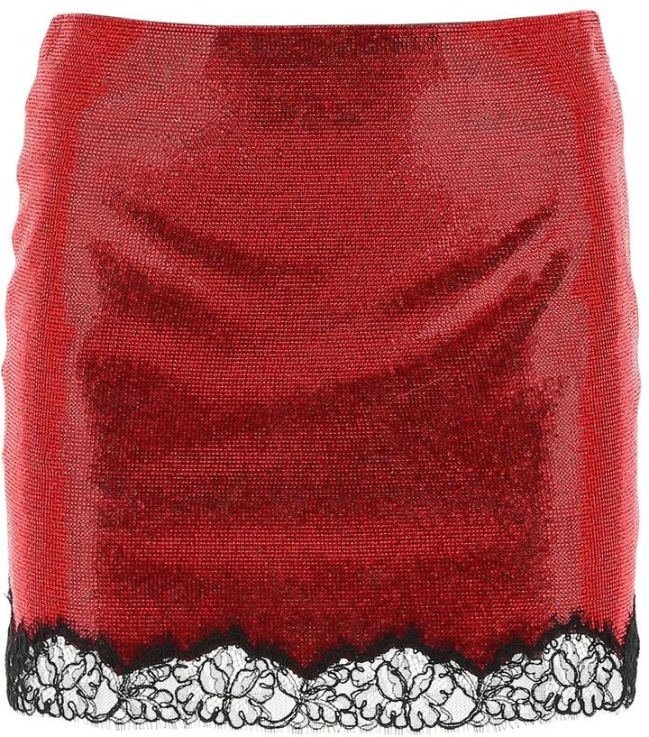 Philosophy di Lorenzo Serafini Embellished Mini Skirt