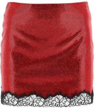 Philosophy di Lorenzo Serafini Embellished Mini Skirt