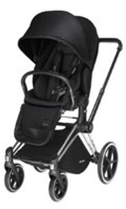 CYBEX Priam Pram Plus Lux Seat 2017 - Chrome w Stardust Black