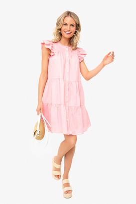 Sea Rose Shannon Scallop Button Down Dress