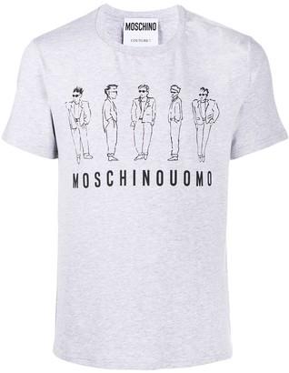 Moschino Characters print T-shirt