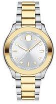 Movado Bold Two-Tone Stainless Steel Bracelet Sport Watch