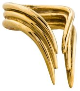 Aesa Bronze Simple Bow Ring