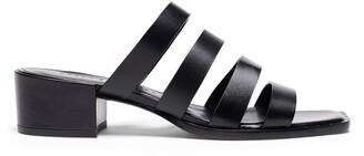 Freda Salvador Ingrid Square Toe Strappy Slide Sandal
