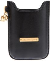 Alexander McQueen skull charm blackberry case - men - Leather - One Size