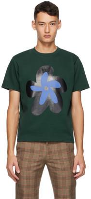 Molly Goddard Green Flower T-Shirt