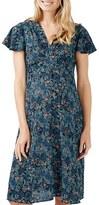 Topshop Women's Ditsy Floral Print Midi Maternity Dress