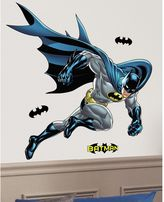 Justice Batman Bold Peel and Stick Giant Wall Decals