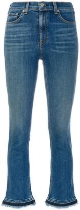 Rag & Bone Jean cropped skinny jeans
