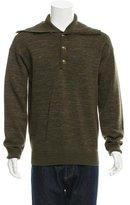 Burberry Patterned Merino Wool Sweater