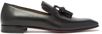 Christian Louboutin Dandelion Tasseled Leather Loafer - Black