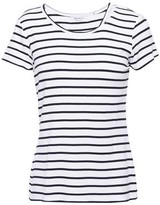 Bailey 44 Cutout Striped Jersey T-shirt