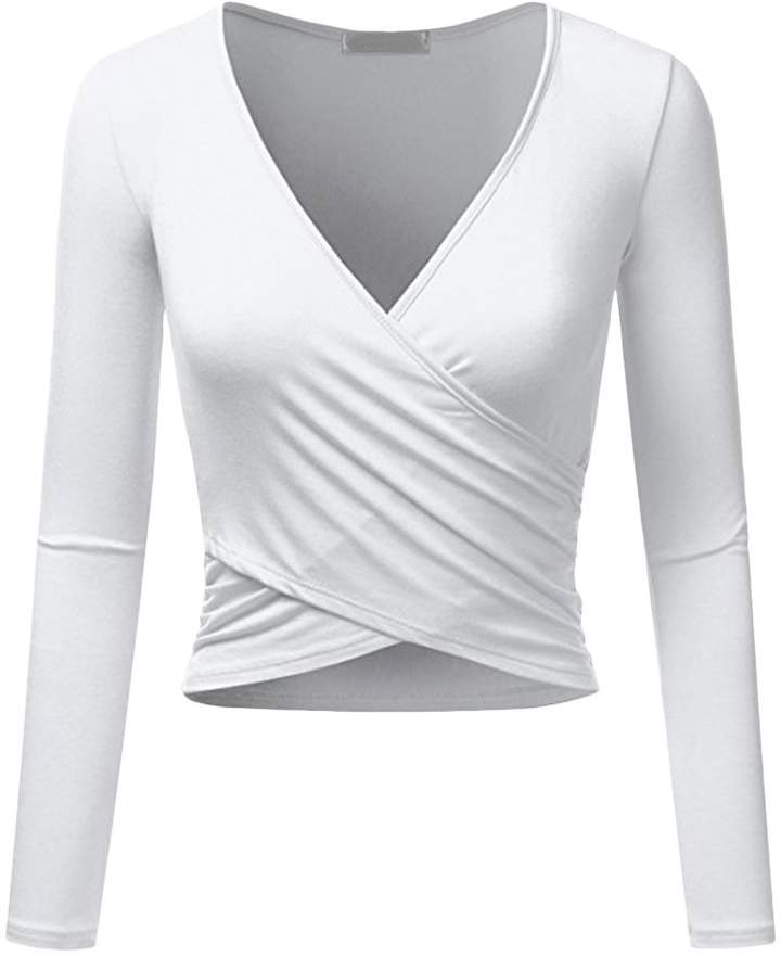 8ff172df462d89 Women's Criss Cross Front Tops - ShopStyle Canada