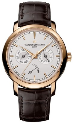 Vacheron Constantin Pink Gold Traditionnelle Day-Date Watch 39.55mm