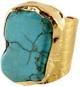 Charlene K Turquoise Cigar Ring
