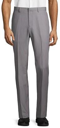 Saks Fifth Avenue Flat-Front Dress Pants