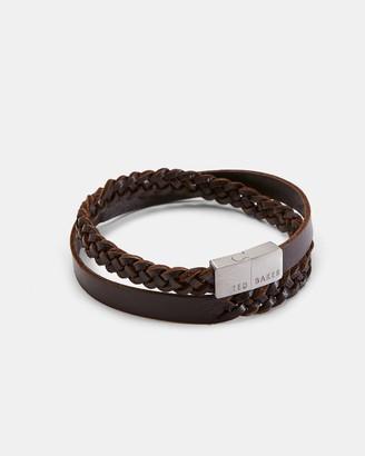 Ted Baker Leather Wrap Bracelet