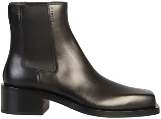 Givenchy Square Toe Ankle Boots