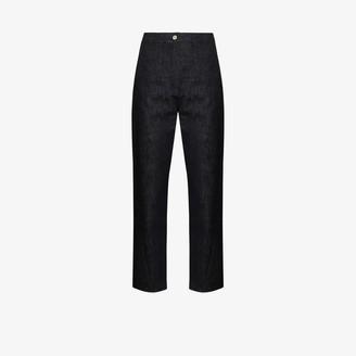 LVIR Twist high waist cropped jeans
