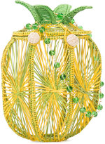 Mercedes Salazar pineapple shoulder bag - women - Raffia - One Size