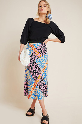 Corey Lynn Calter Bias Midi Skirt By in Assorted Size XS