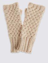 Marks and Spencer Cable Slash Gloves
