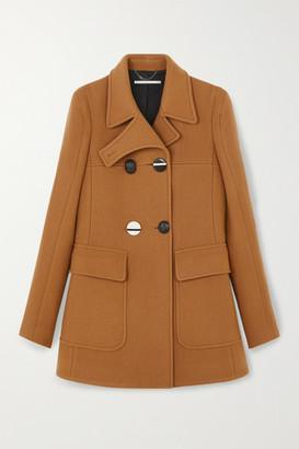 Stella McCartney Nyla Double-breasted Wool-felt Coat - Tan